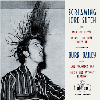 Screaming Lord Sutch /Burr Bailey - Jack The Ripper (ltd Ep)